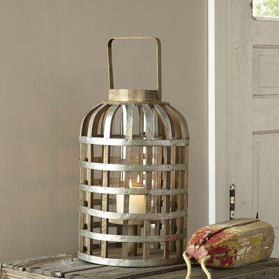 Swansea Tall Lantern Size: 22.4 H x 11.4W x 11.4 D