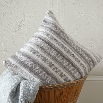 Mesa Pillow Cover Size: 22 H x 22 W x 1 D, Color: GrayNeutral