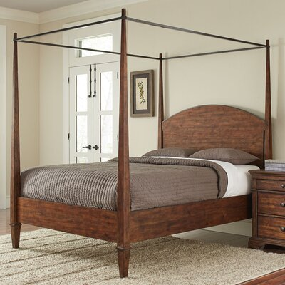 Schaffer Canopy Bed Size: King