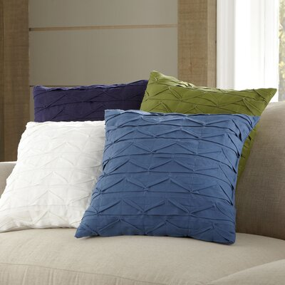 Dewitt Pillow Cover Size: 20 H x 20 W x 1 D, Color: Purple
