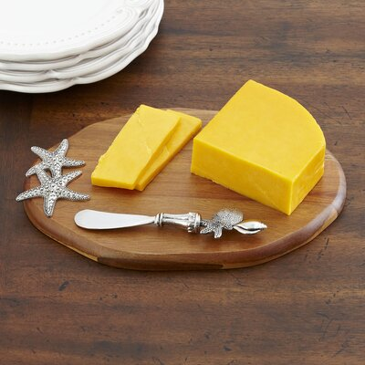 Starfish Cheese Board & Spreader Set
