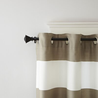 Flared Finial Curtain Rod and Hardware Set
