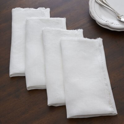 Sunderland Napkins Color: Ivory