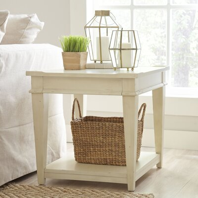 Wheaton Side Table Color: Whipped Cream