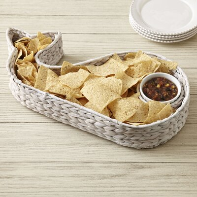 Florence Whale Chip and Dip Basket Set