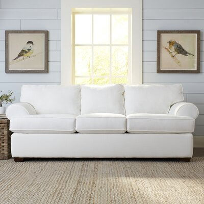 Wright Sofa Upholstery: Classic Bleach White