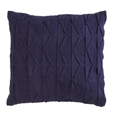 Dewitt Pillow Cover Size: 22 H x 22 W x 5 D, Color: Navy