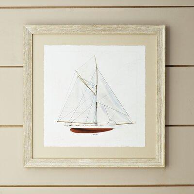 Topsail Framed Print II