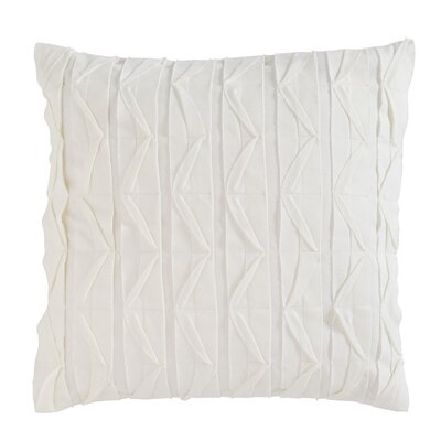 Dewitt Pillow Cover Size: 18 H x 18 W x 4 D, Color: White
