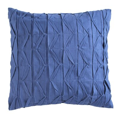 Dewitt Pillow Cover Size: 20 H x 20 W x 1 D, Color: Blue
