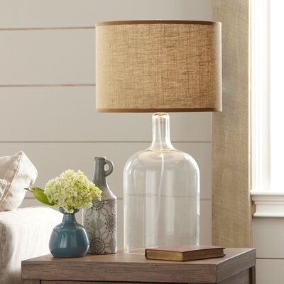 Falmouth Glass Table Lamp Finish: Clear