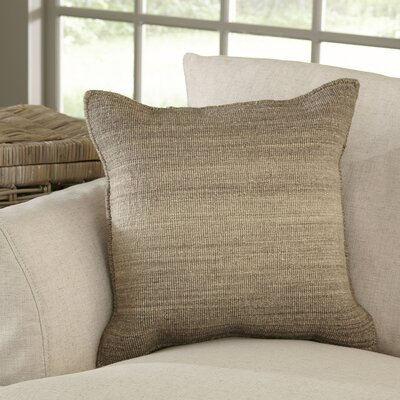 Carlsbad Pillow Cover Color: Tan