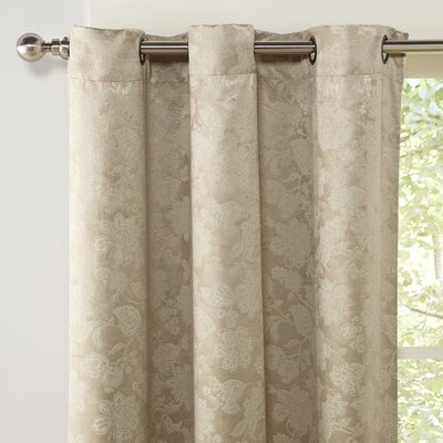 Myra Blackout Curtain Panel Color: Latte