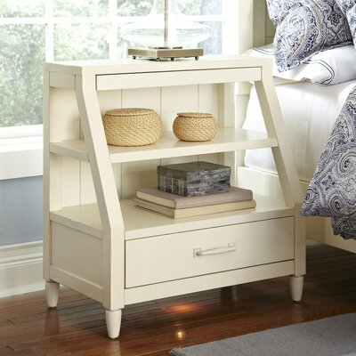 Reeves Open-Shelf Nightstand