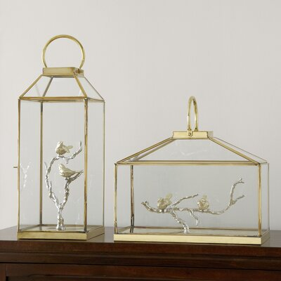 Glass Bird Lantern