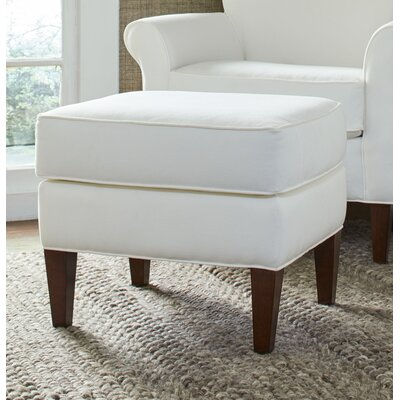 Dunlap Ottoman Upholstery: Microsuede Oyster