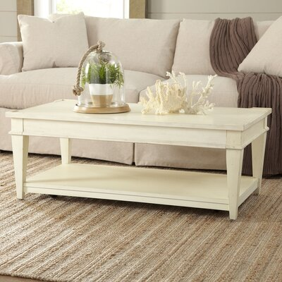 Wheaton Coffee Table Color: Whipped Cream