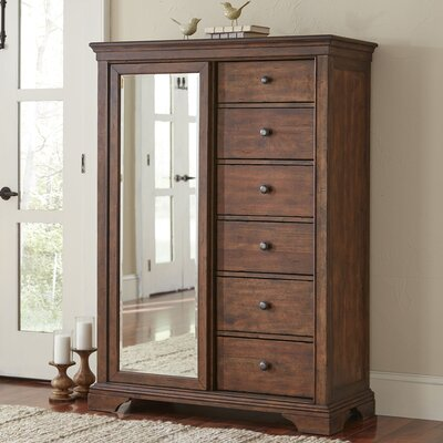 Schaffer 6 Drawer Gentlemans Chest