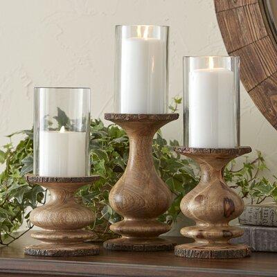 Bradley 3-Piece Candleholder Set