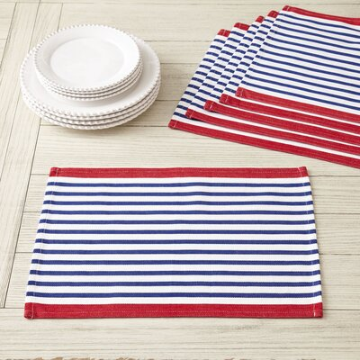 Colburn Placemats Color: Blue