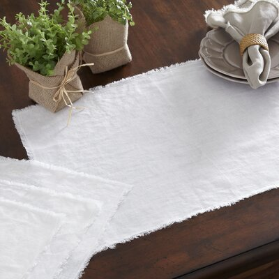 Sunderland Placemats Color: Ivory