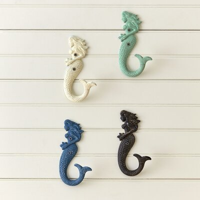 Mermaid Multicolored Hooks (Set of 4)