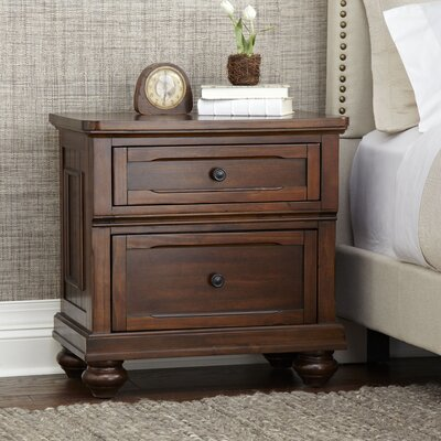 Finnegan Nightstand Finish: White