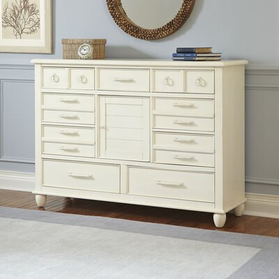 Reeves Combo Dresser Finish: White