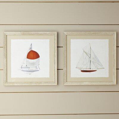Topsail Framed Print I