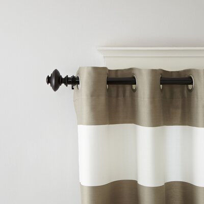 Acorn Finial Curtain Rod and Hardware Set Size: 2.56 H x 149 W x 2.56 D