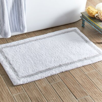 Bessemer Bath Mat Color: Gray