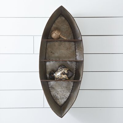 Canoe Wall Shelf