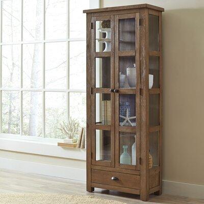 Seneca Solid Pine Curio Cabinet