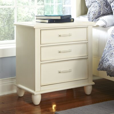 Reeves Nightstand Color: White