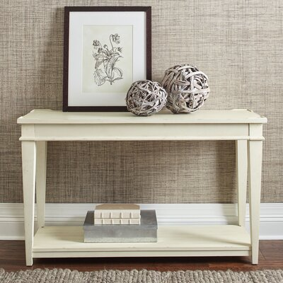 Wheaton Console Table Color: Whipped Cream