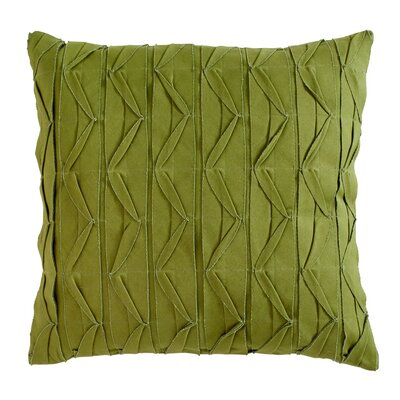Dewitt Pillow Cover Size: 22 H x 22 W x 5 D, Color: Green