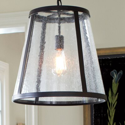 Bethel Mini-Pendant Finish: Oil-Rubbed Bronze, Size: 17.38 H x 16 W x 16 D