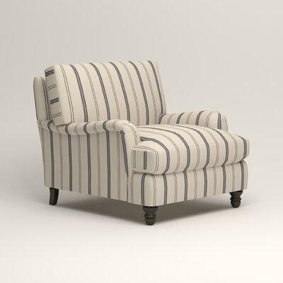 Montgomery Upholstered Chair Color: Adalia Deep-Sea Navy