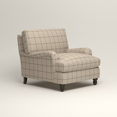 Montgomery Armchair Upholstery: Stedman Natural