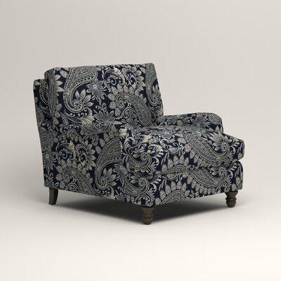 Montgomery Armchair Upholstery: Nadia Denim