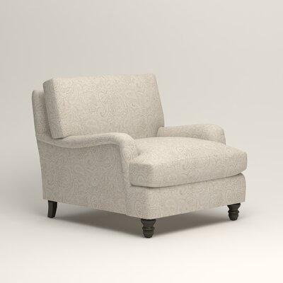 Montgomery Armchair Upholstery: Ronan Linen