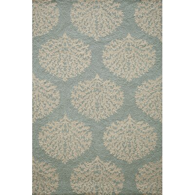Hand-Woven Blue Indoor/Outdoor Area Rug Rug Size: Rectangle 8 x 10