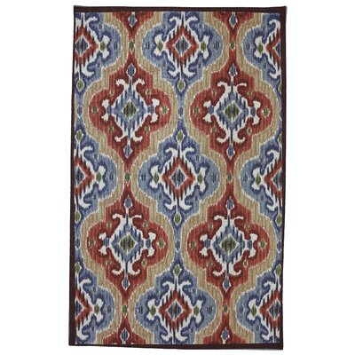 Mystic Ikat Indoor/Outdoor Area Rug Rug Size: 5 x 8
