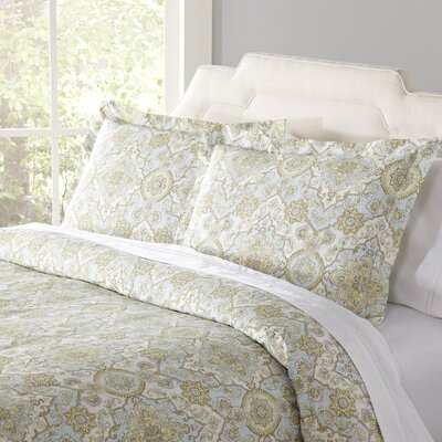 Margaret Teal Duvet Set Size: Full/Queen