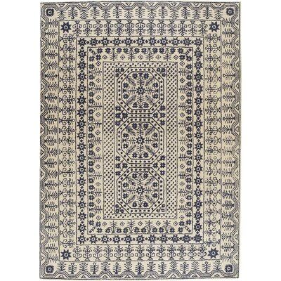 Hearst Tufted Wool Area Rug Rug Size: Rectangle 33 x 53