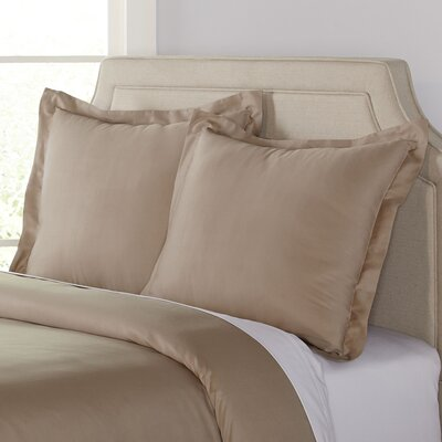 Kelly Euro Shams Color: Taupe