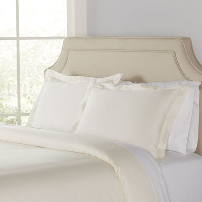 Kelly Duvet Set Color: Cream, Size: King