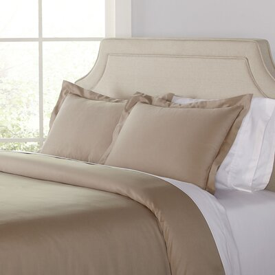 Kelly Duvet Set Size: King, Color: Taupe