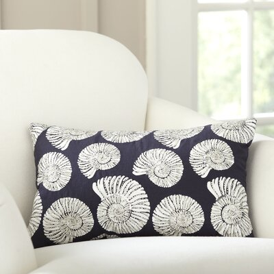 Nautilus Repeat Beaded Pillow Cover