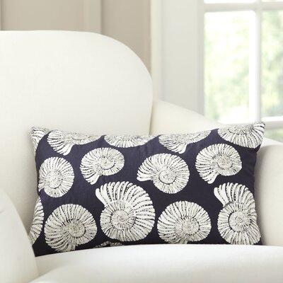 Nautilus Repeat Beaded Pillow Cover
